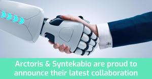 2020.08.17 Arctoris-Syntekabio collaboration post