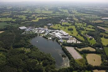 Alderley Park aerial view