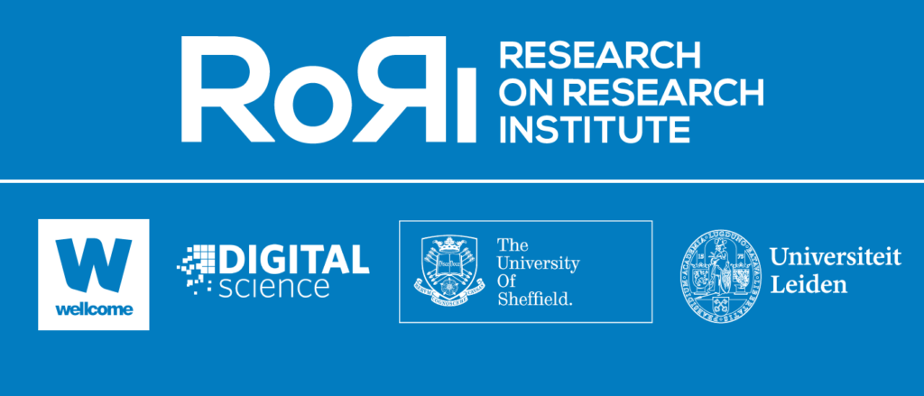 Research on Research Institute (RoRi)