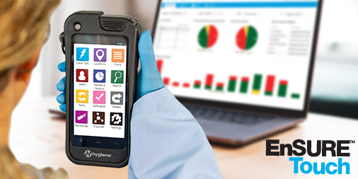 Hygiena Announces New EnSURE™ Touch Monitoring System