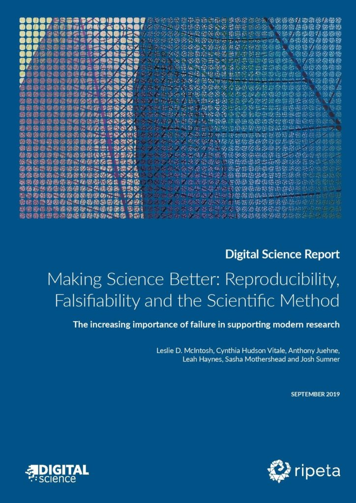 The increasing importance of failure in supporting modern research
