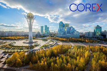 New COREX Logistics office in Almaty, Kazakhstan May 2021