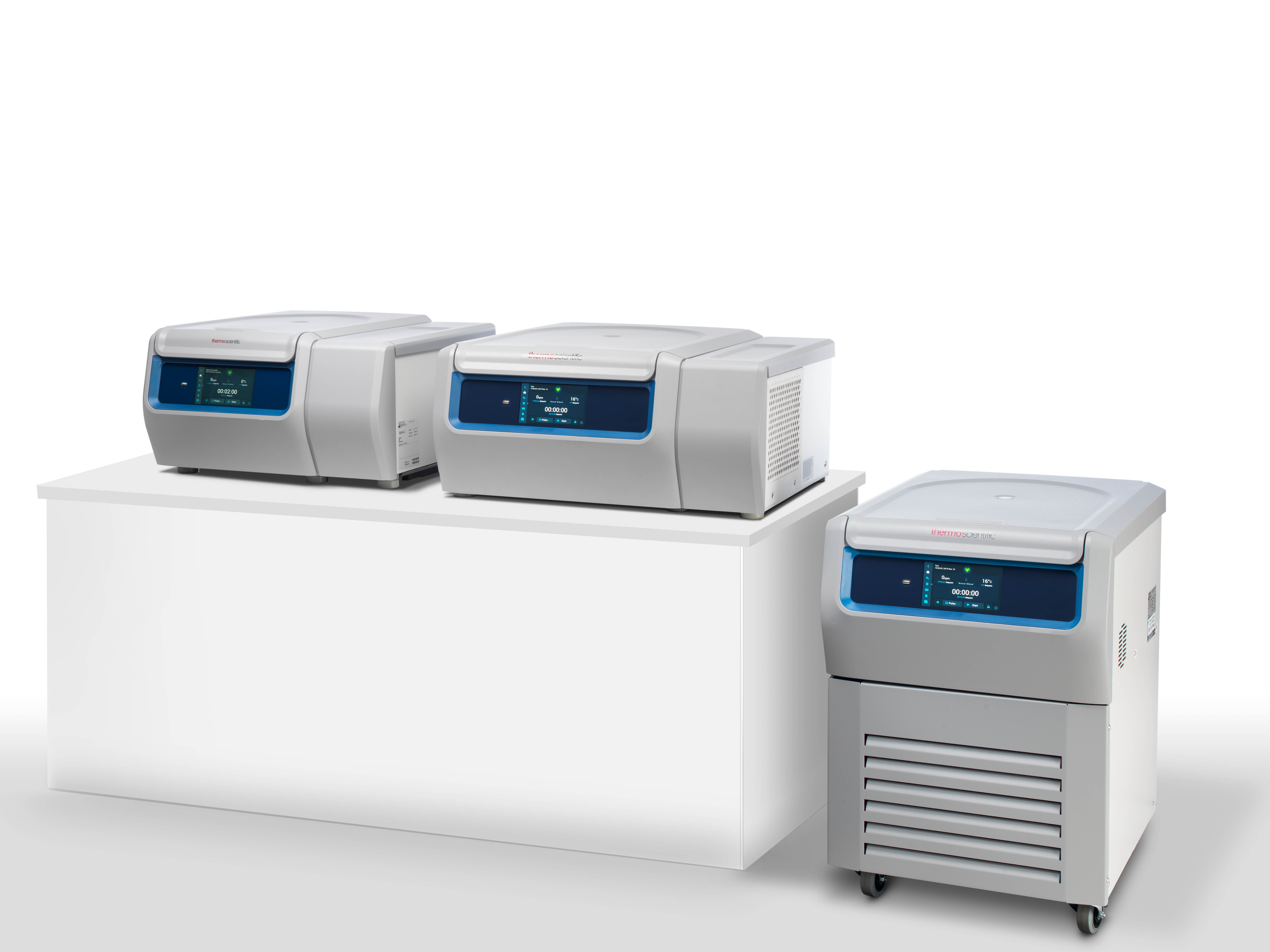 The Thermo Scientific General Purpose Pro Centrifuge Series deliver optimal sample safety, functionality and ergonomics